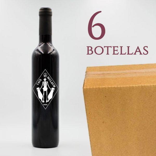 Mulsum Baetica Columela Vino Tinto de Miel Arqueogastronomía Caja 6 botellas