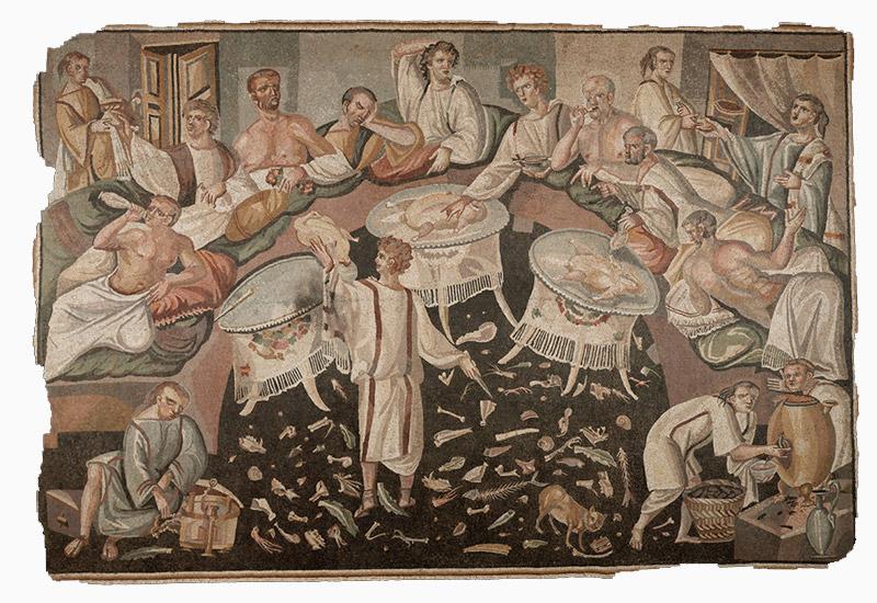 la cocina romana Arqueogastronomía Vino Romano Balbo et Columela Taberna Cádiz Experiencias Gastronómicas