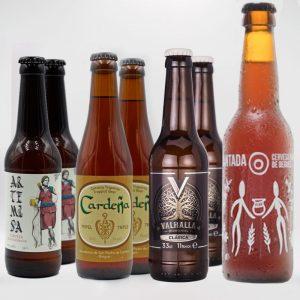 Cata de Cervezas Ceres Pack Arqueogastronomía Cerveza Artesana Hidro Miel