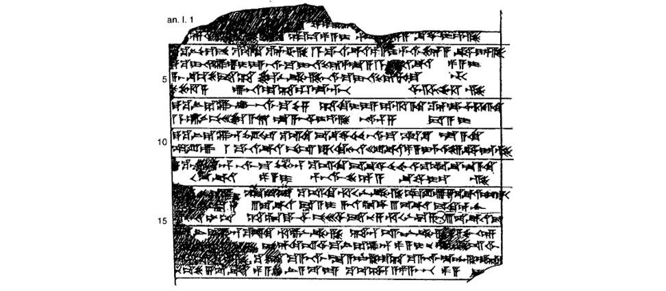 Tablilla con leyes comerciales hititas Arqueogastronomía