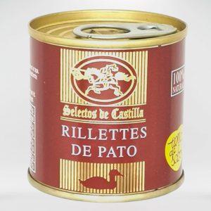 Rillettes de Pato Selectos de Castilla Arqueogastronomia