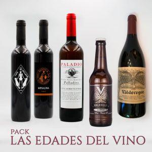 Pack Las Edades del Vino Arqueogastronomía