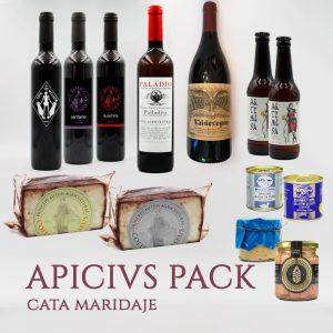 Apicivs Pack cata maridaje arqueogastronomía