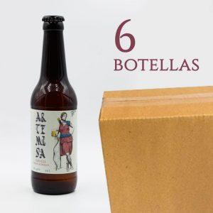 Artemisa Cerveza Íbero Romana Artesana arqueogastronomía Cata de Cervezas Ceres Pack Arqueogastronomía Cerveza Artesana Hidro Miel caja 6 botellas