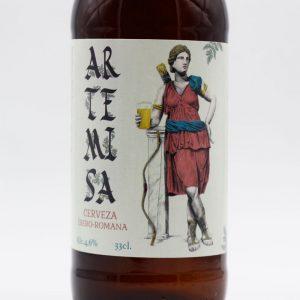 Artemisa Cerveza Íbero Romana Artesana sin filtrar arqueogastronomía