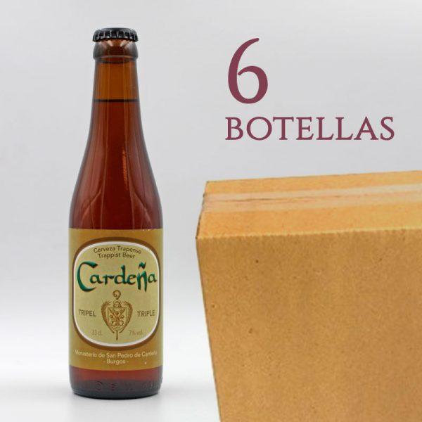 Cardeña Cerveza Trapense Triple Arqueogastronomía Monasterio San Pedro de Cardeña Burgos España caja 6