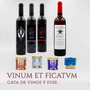Cata de vinos y foie vinum et ficatvm arqueogastronomía