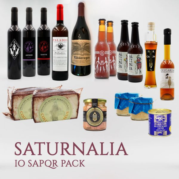 IO SAPQR Saturnalia Pack Arqueogastronomía